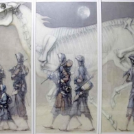 Cavall nocturn II (Desplazados)